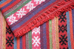 De achtergrond van sjaals Royalty-vrije Stock Afbeelding