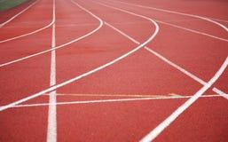 De achtergrond van sporten Stock Foto