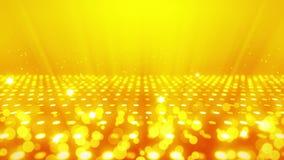 De achtergrond van de stadiumverlichting met velen lichteffect De abstracte animatie van de discolijn Het gloeien T.L.-verlichtin vector illustratie