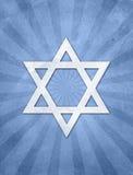 De achtergrond van Starburst van het judaïsme grunge Stock Foto's