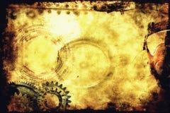 De Achtergrond van Steampunk royalty-vrije stock afbeelding