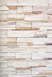 De achtergrond van steenbakstenen muur Stock Foto's
