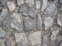 De achtergrond van de steenweg royalty-vrije stock afbeelding