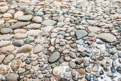 De achtergrond van stenen stock afbeelding