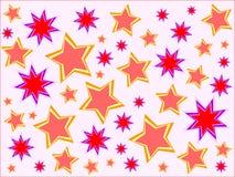 De achtergrond van sterren Royalty-vrije Stock Foto