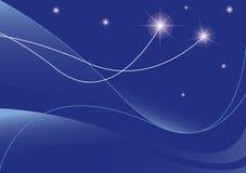 De achtergrond van sterren Stock Afbeeldingen