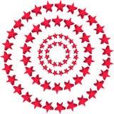 De Achtergrond van sterren Stock Foto's