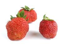 De achtergrond van Strowberry Royalty-vrije Stock Foto