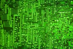 De achtergrond van Techno Stock Afbeelding