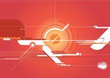 De Achtergrond van Techno royalty-vrije illustratie