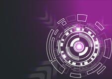 De achtergrond van Techno Stock Foto's