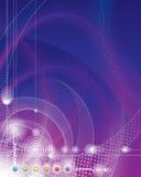 De Achtergrond van technologie. vector illustratie