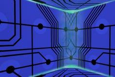 De achtergrond van technologie Royalty-vrije Stock Foto