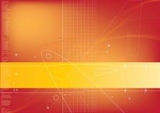 De achtergrond van technologie Stock Fotografie