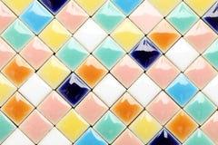 De achtergrond van tegels Royalty-vrije Stock Foto