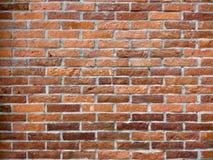 De achtergrond van de terracottaBakstenen muur royalty-vrije stock afbeeldingen