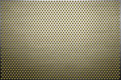 De achtergrond van de textuur Grijs geperforeerd metaalblad Staalplaat met gaten van een ruitvorm royalty-vrije stock foto