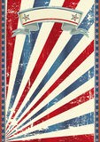 De achtergrond van Tricolor Royalty-vrije Stock Foto