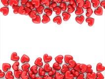 De achtergrond van valentijnskaarten Royalty-vrije Stock Foto's