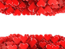 De achtergrond van valentijnskaarten Stock Afbeelding