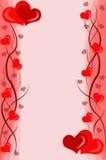 De achtergrond van valentijnskaarten Royalty-vrije Stock Fotografie