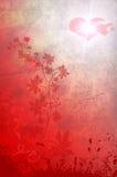 De achtergrond van valentijnskaarten Stock Afbeeldingen