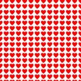 De achtergrond van valentijnskaarten met harten Stock Afbeelding