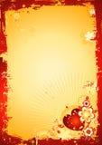 De achtergrond van valentijnskaarten, vector Royalty-vrije Stock Foto's