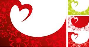 De achtergrond van Valentine Stock Afbeelding