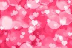 De achtergrond van Valentine bokeh Stock Afbeelding