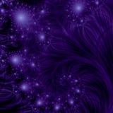 De achtergrond van vallend sterren Stock Foto's