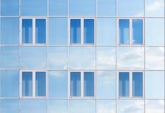 De achtergrond van vensters Royalty-vrije Stock Foto