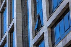 De achtergrond van venstersminimalism Stock Fotografie