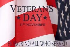 De achtergrond van de veteranendag Tekstveteranen dag elfde november unite Stock Afbeeldingen