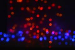 De achtergrond van vierings bokeh lichten Royalty-vrije Stock Afbeelding