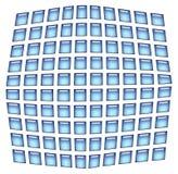 De achtergrond van vierkanten royalty-vrije illustratie