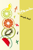 De achtergrond van vruchten vector illustratie