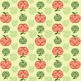 De achtergrond van vruchten. Stock Afbeelding