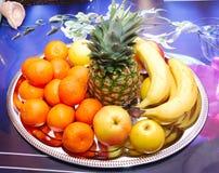 De achtergrond van vruchten Royalty-vrije Stock Afbeelding