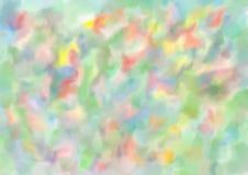 De achtergrond van de waterverf Multi-colored vlekken Abstractie royalty-vrije illustratie