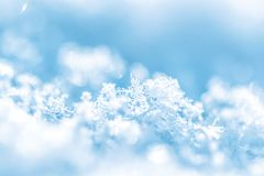 De achtergrond van de winter Royalty-vrije Stock Foto