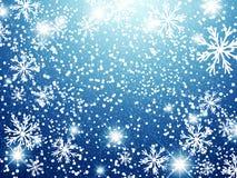 De achtergrond van de de wintervakantie stock afbeeldingen