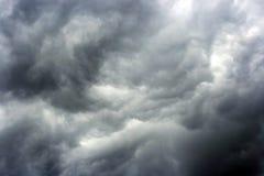 De achtergrond van wolken Royalty-vrije Stock Foto