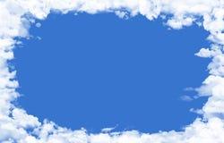 De achtergrond van wolken stock foto's