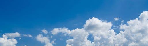 De achtergrond van wolken Stock Fotografie