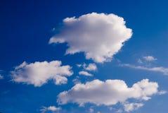 De Achtergrond van wolken royalty-vrije stock foto's