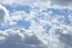 De achtergrond van wolken Royalty-vrije Stock Afbeelding