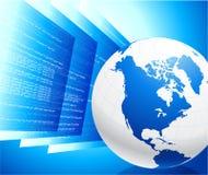 De achtergrond van World Wide Web Internet Stock Fotografie