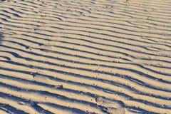 De achtergrond van zandgolven Royalty-vrije Stock Afbeelding