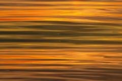 De achtergrond van zonsonderganggolven Stock Fotografie